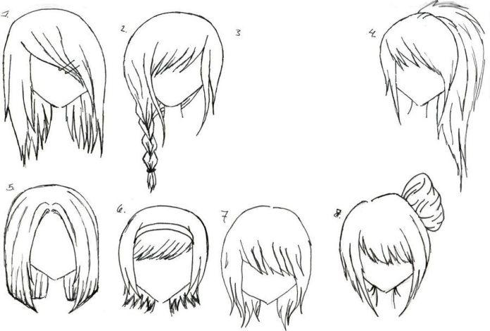 Chibi/ Anime hair styles on Pinterest | Anime Hair, Anime