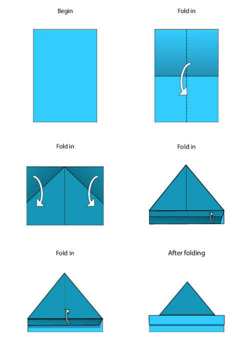 easy origami a4 paper tutorial origami handmade