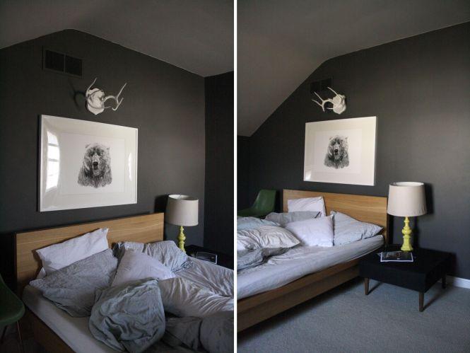 Bedroom Dark Walls Bedroom Style Ideas – Dark Walls Bedroom
