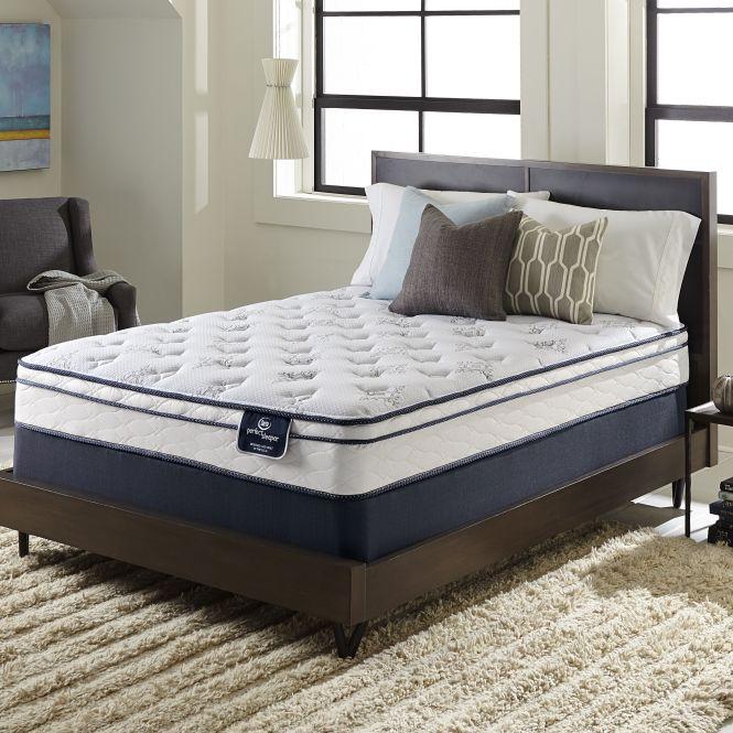 Serta Perfect Sleeper Birchcrest Eurotop Full Size Mattress Set With 9 Profile