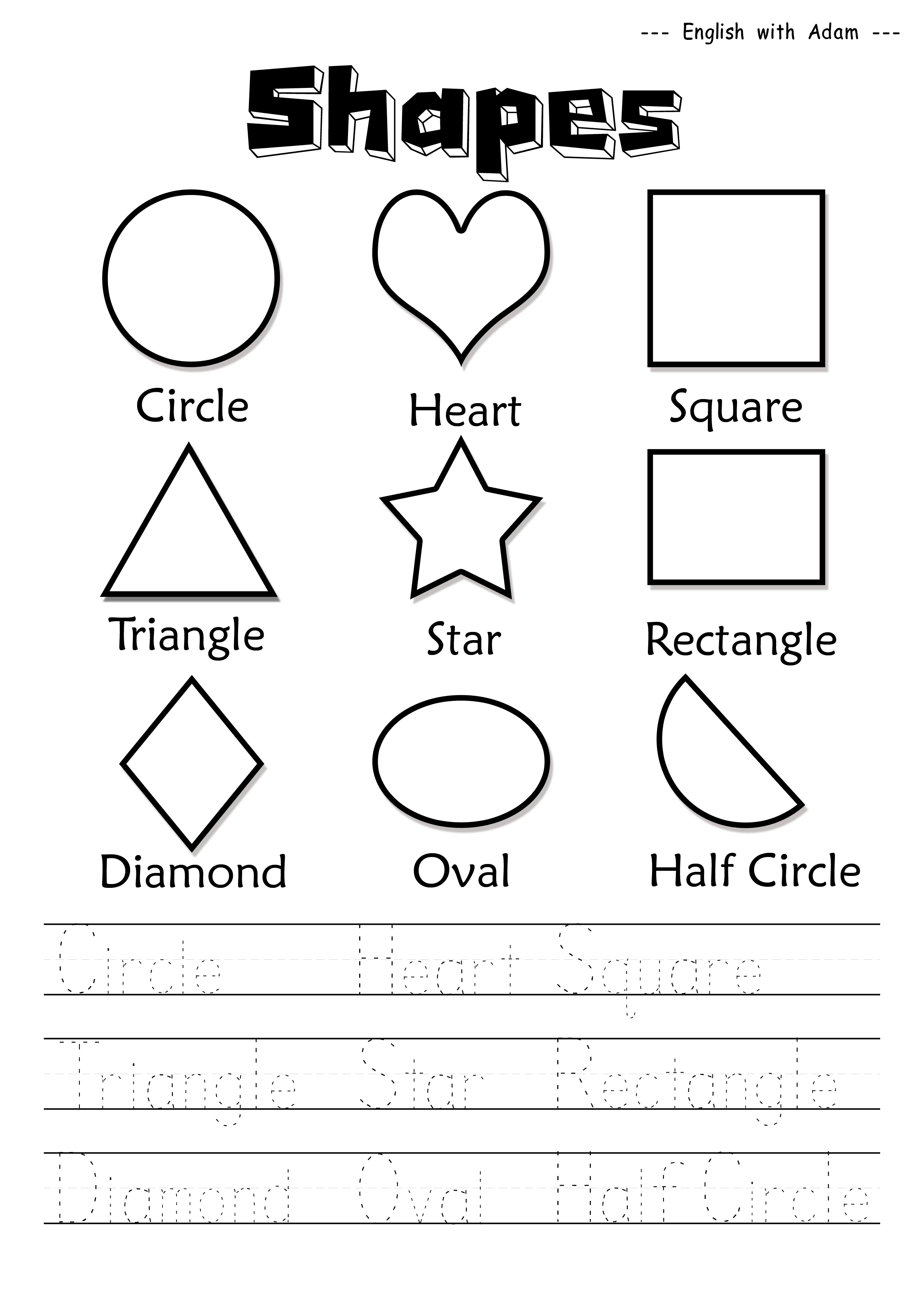 Shapes Done