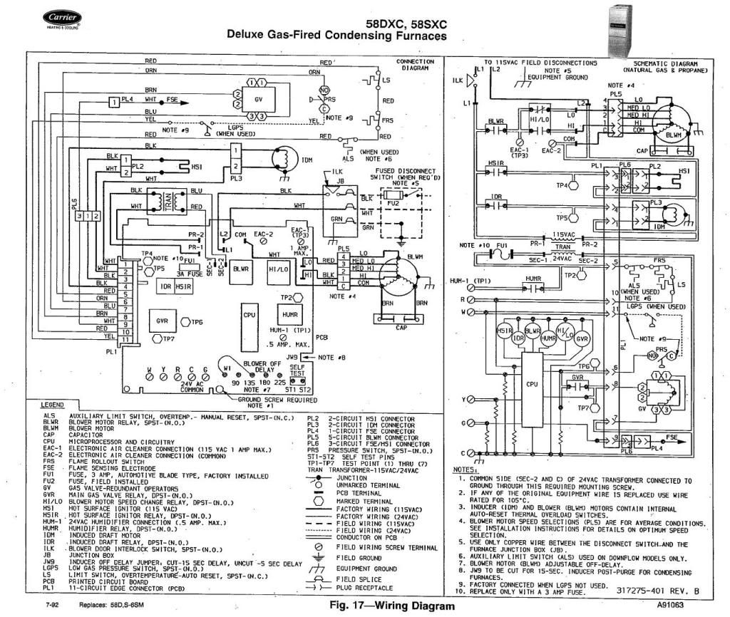 Heater Furnace Schematic Diagram