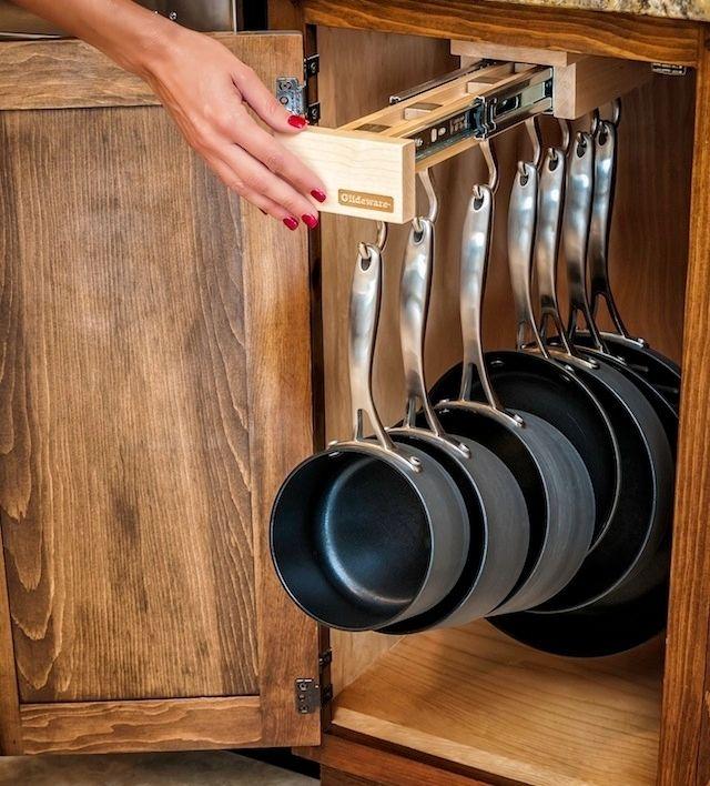 Single Glideware Kitchen Cabinet Organizer Organizers