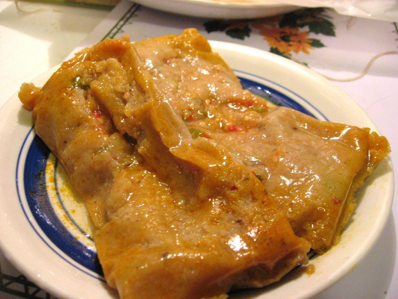 Puerto Rican Cuisine Pasteles Yum