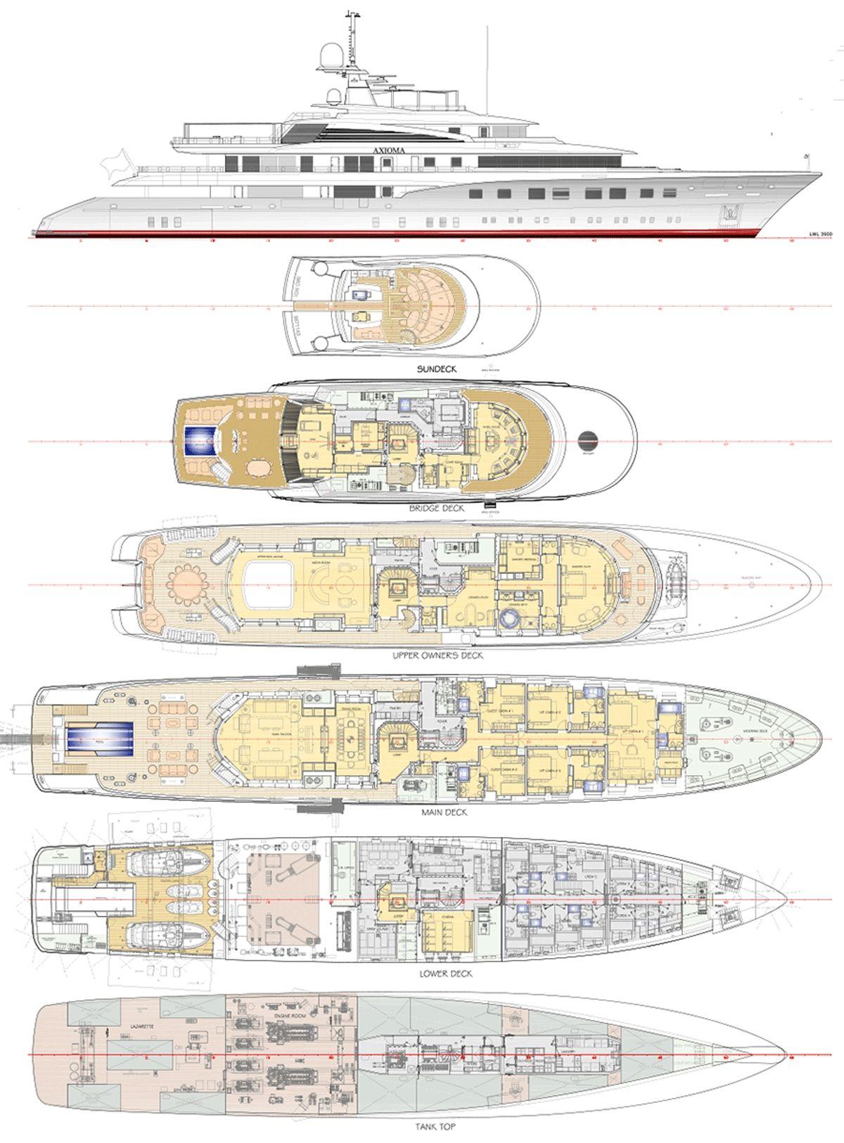 Yacht Axioma Ypi General Arrangement 0jpg 12001625