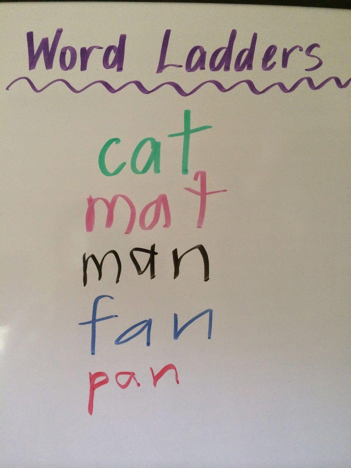 Fun Games 4 Learning Word Ladders