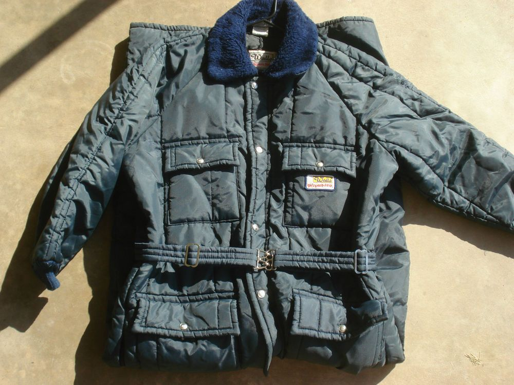 vintage walls blizzard pruf snow suit coveralls insulated on walls insulated coveralls blizzard pruf id=83670