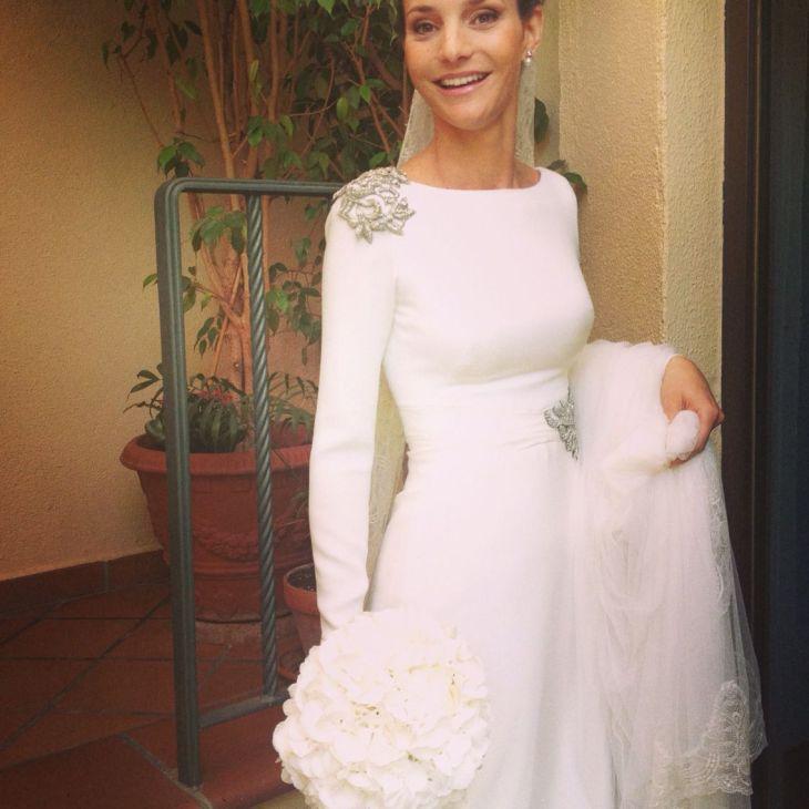 Vestido de novia Manuel de Vivar Madrid Alta costura