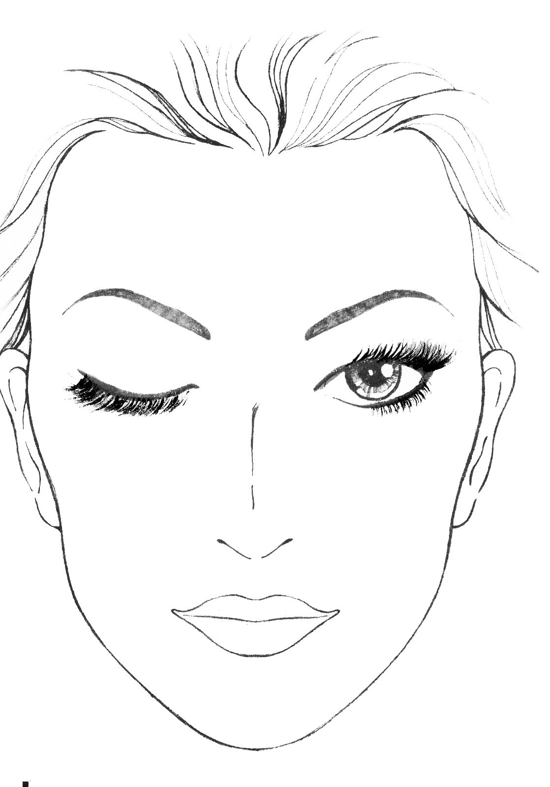 Blank Mac Face Charts Makeup Anarchist Pictures This Is Going To Be So Useful When Learning To