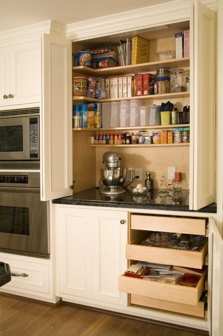 My dream home would have a baking station in the kitchen just like
