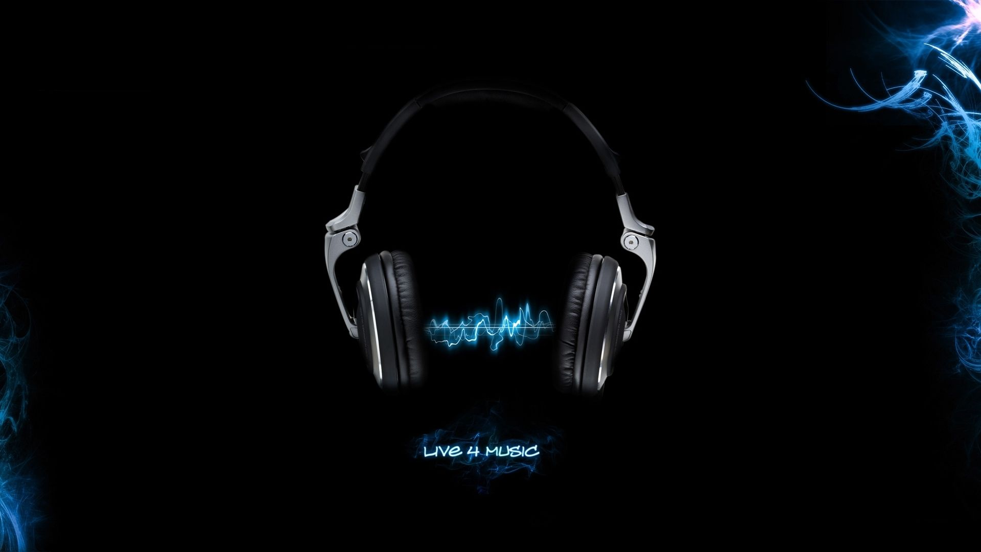 music backgrounds | headphones music black background fresh new hd