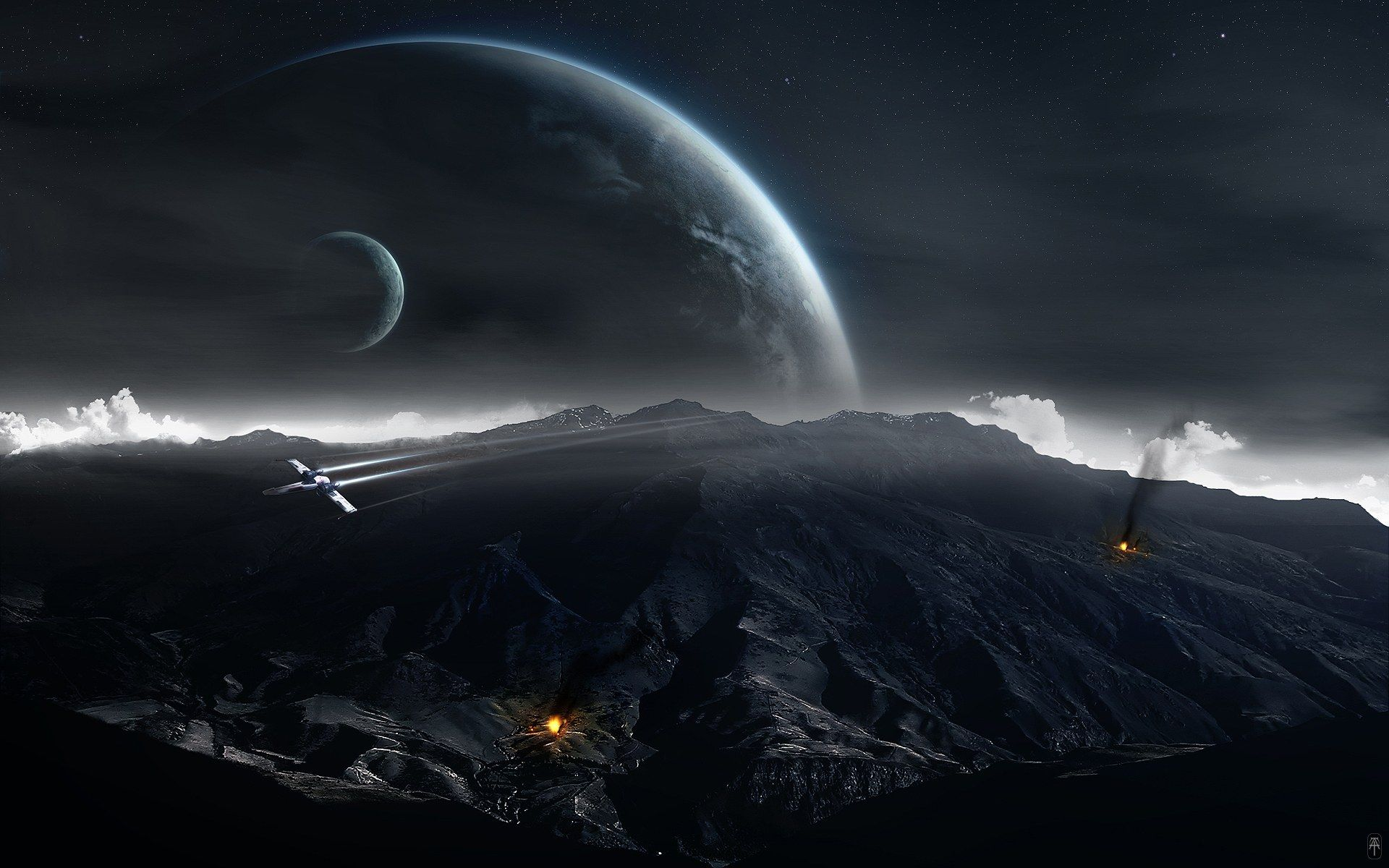 digital images | hd digital art of universe and planets 1920x1200