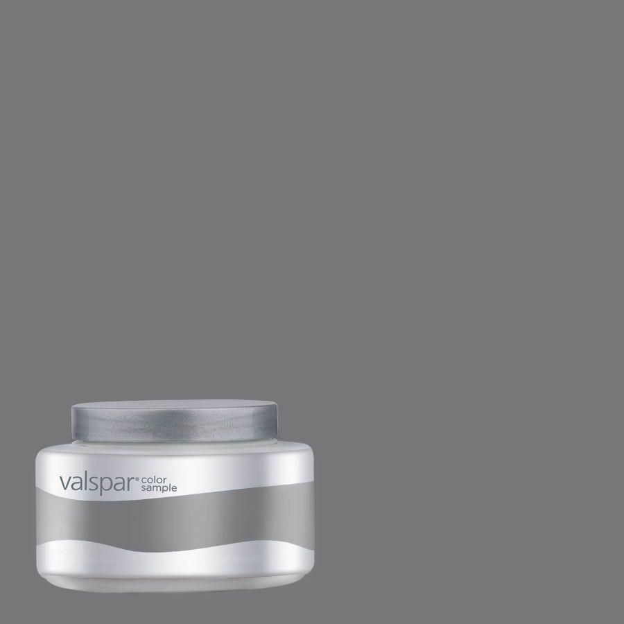 shop valspar 8 oz pantone charcoal gray interior satin on lowes paint colors interior gray id=51484