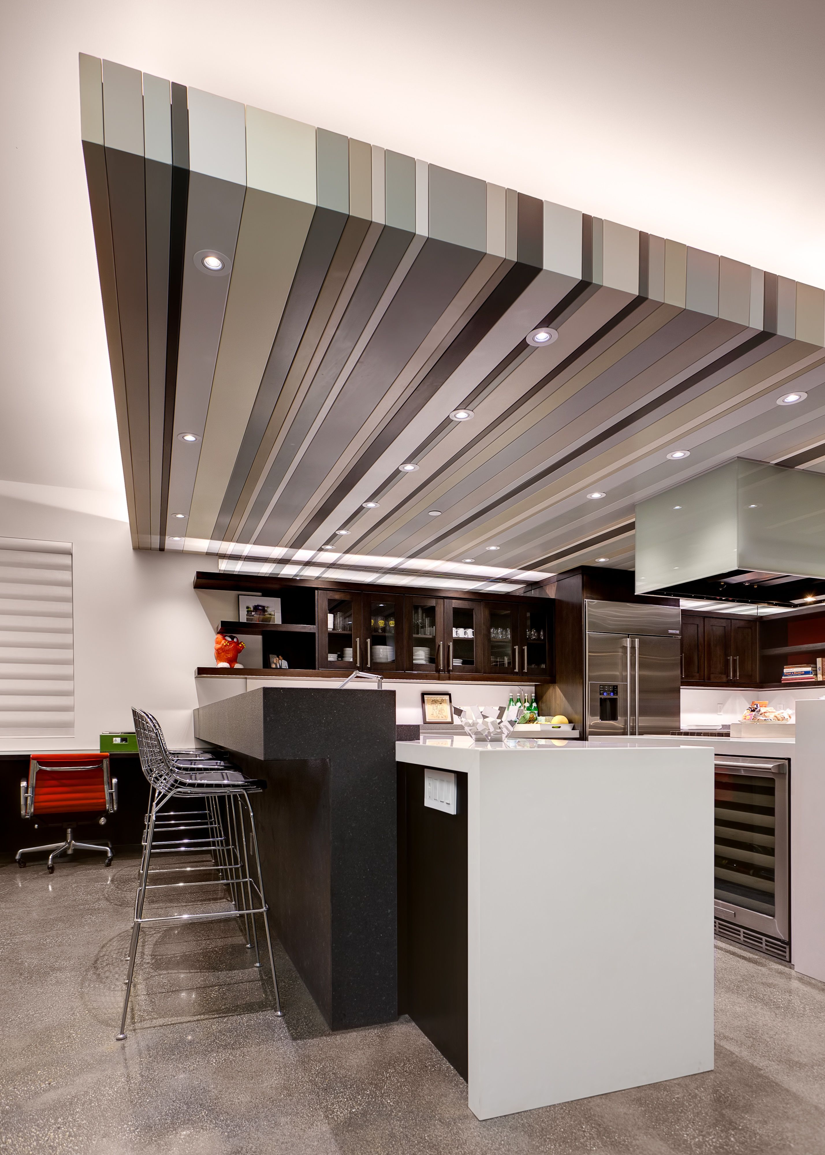 Another Angle Of The Kitchen Remodel Emphasizing Our Led