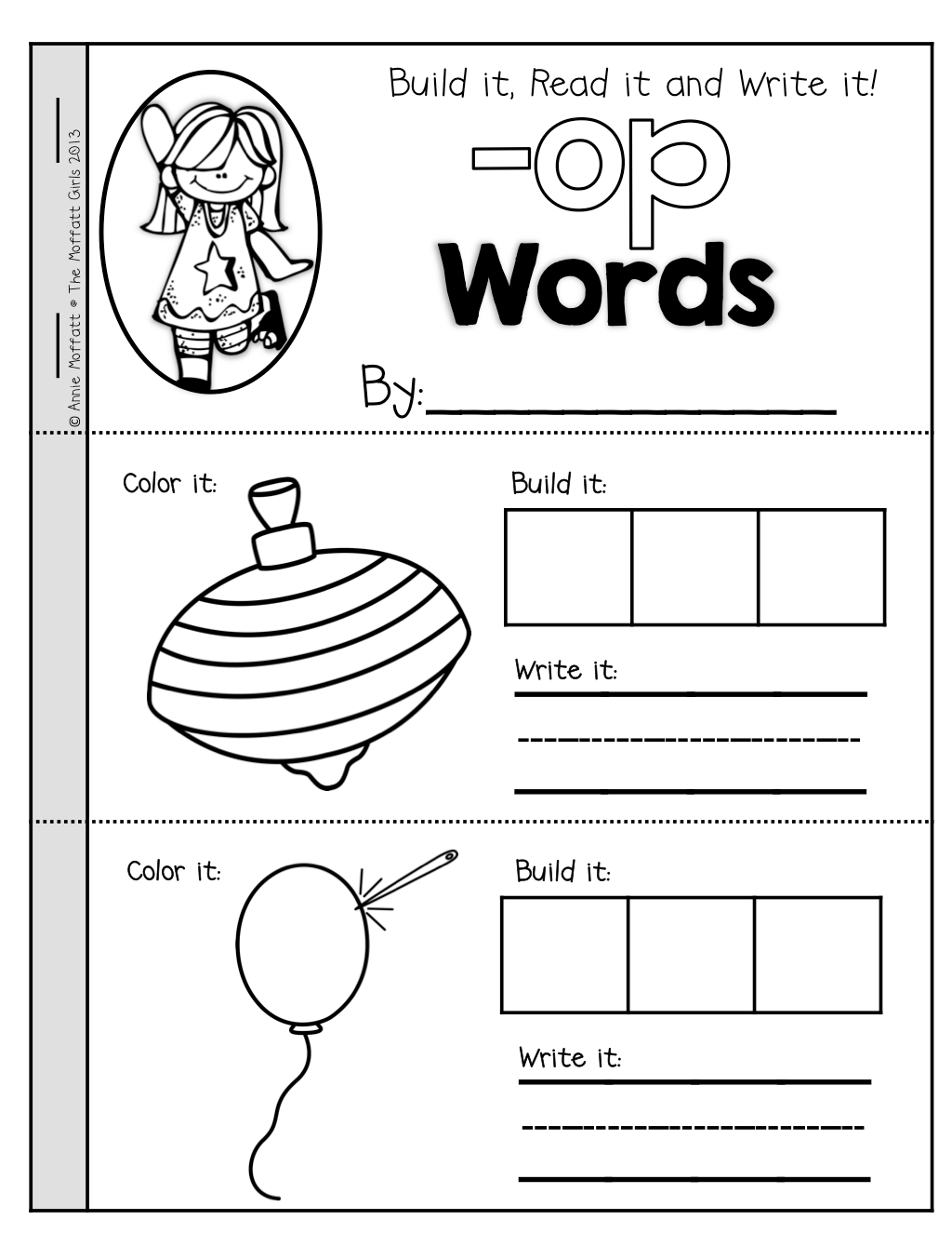 Cvc Booklets For The 23 Most Common Cvc Word Families