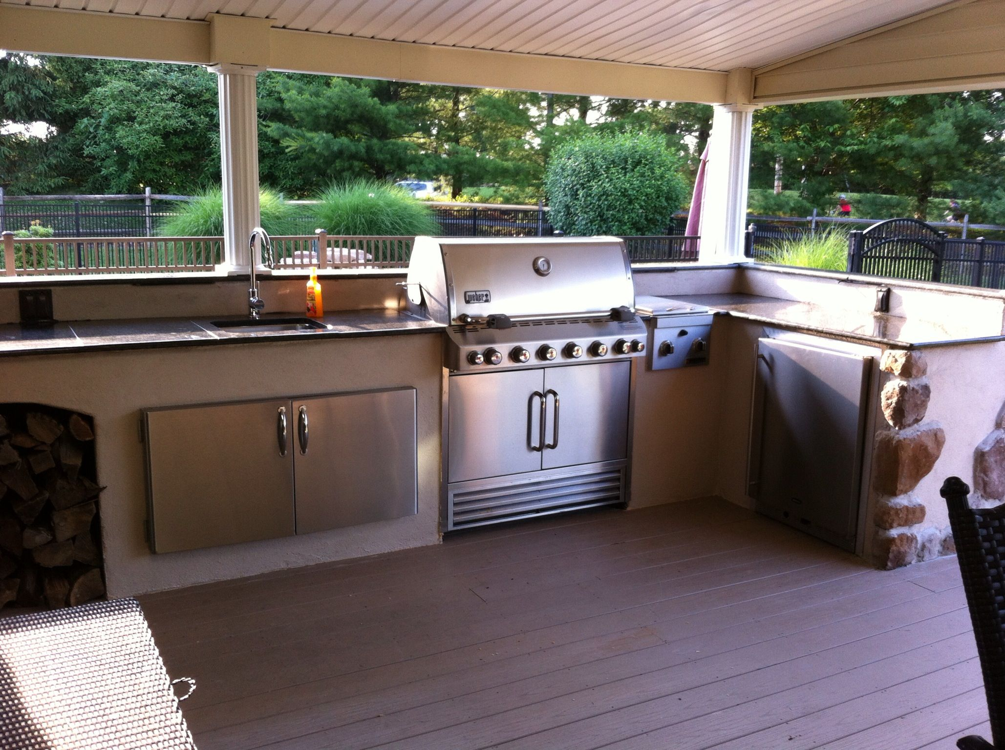 our outdoor kitchen on a budget bought everything off craigslist over a year and a half and on outdoor kitchen ideas on a budget id=83332