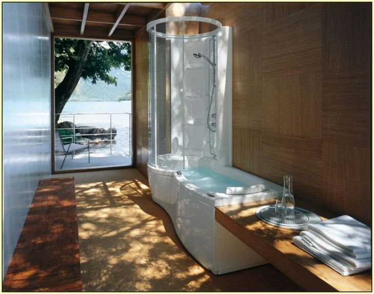 Jacuzzi Shower Combo  Ideas for the Bedroom Suite  Pinterest