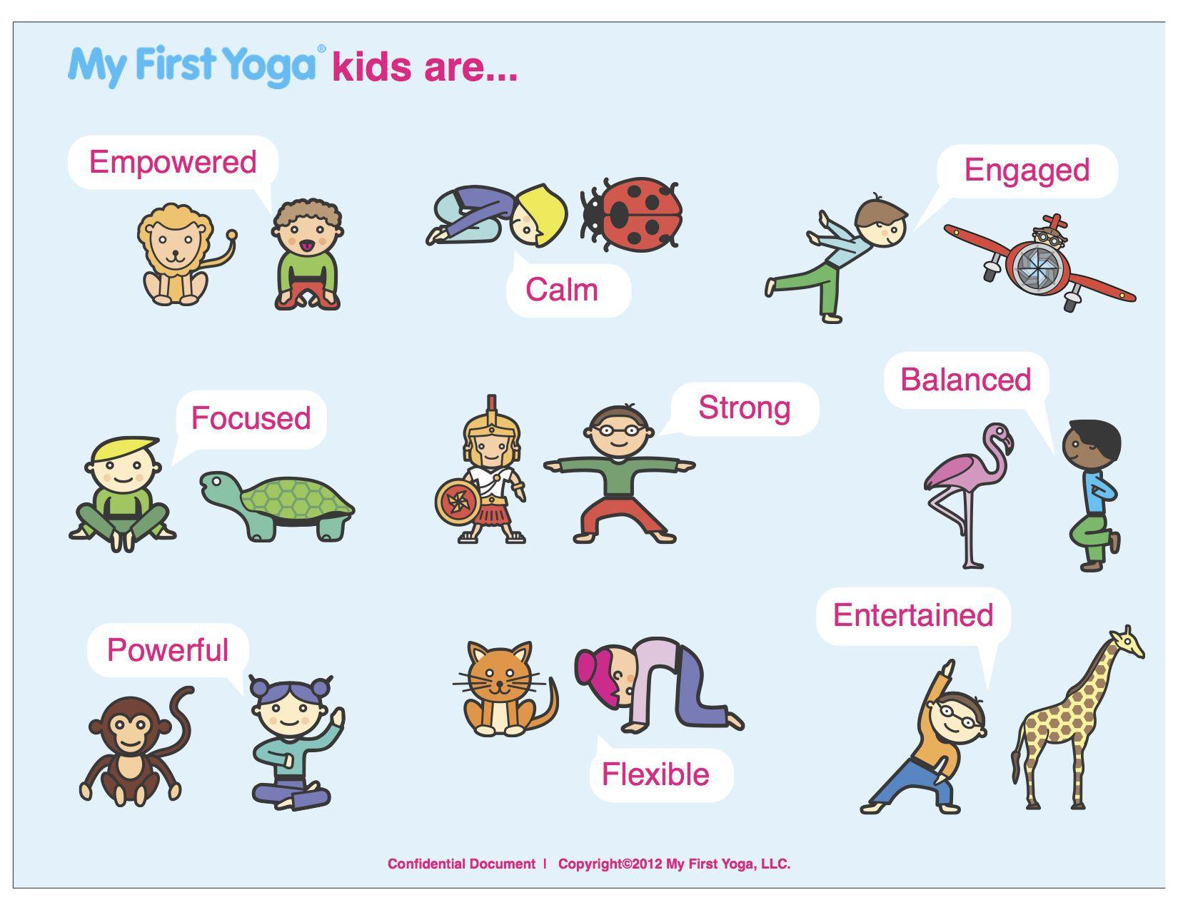Kinderen En Yoga Kids And Yoga Les Enfants Et Yoga