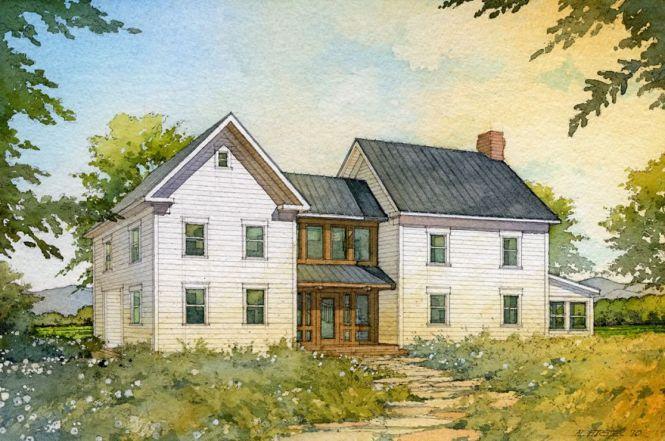 Simple 2 Story Farmhouse Plans Amazing House Plans