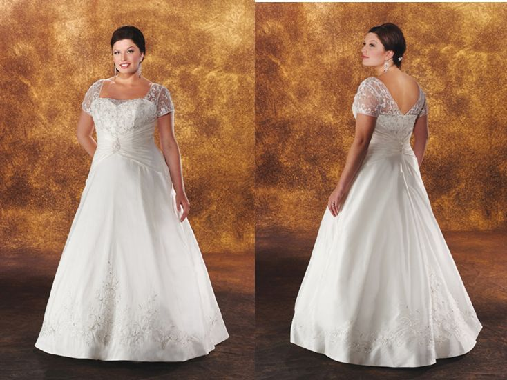 Wedding Dress For Older And Over Weight Women