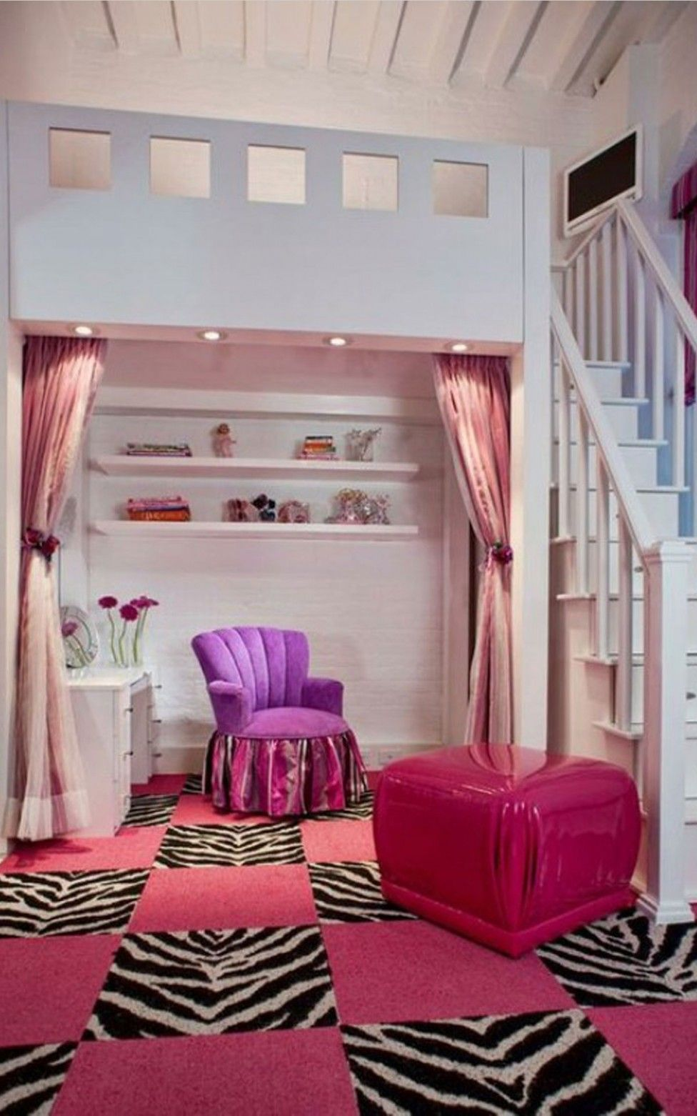 Small Room Ideas for Girls with Cute Color Bedroom 22 ... on Small Room Ideas For Girls  id=44418