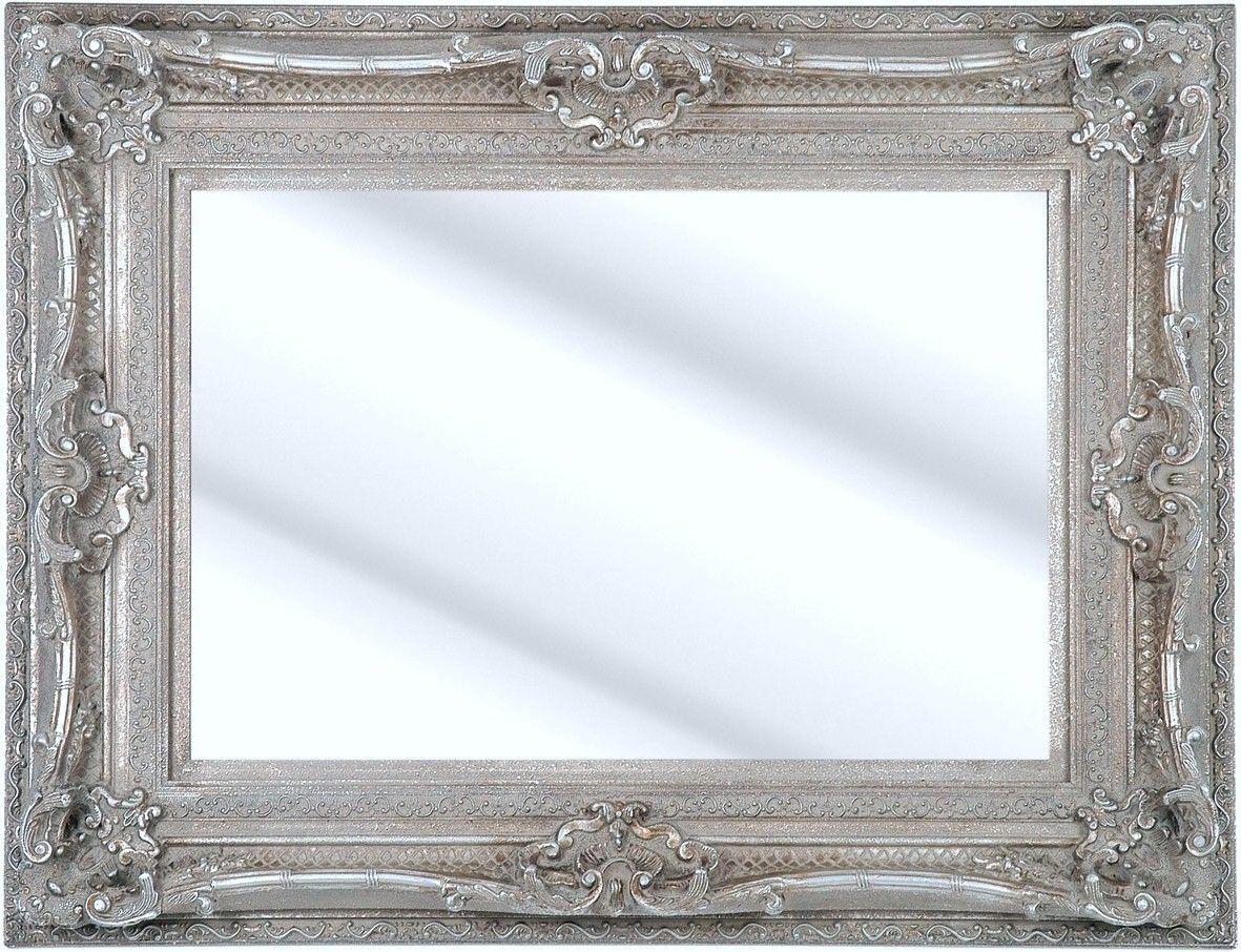 Como Silver Framed Ornate Bevelled Mirror 6 Sizes