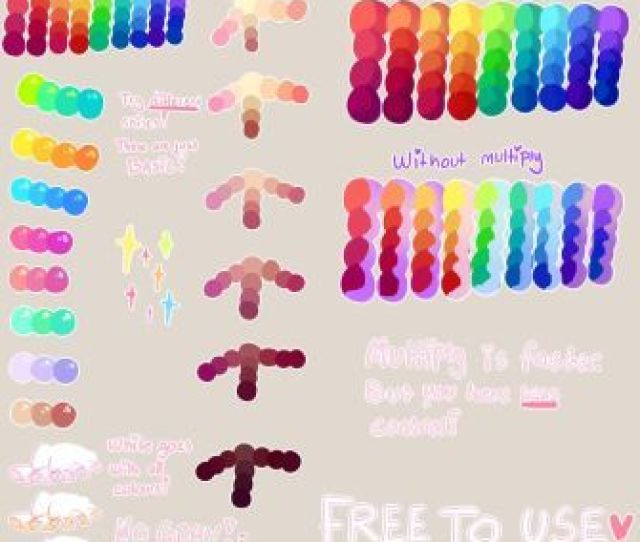 Tutorial Free To Use Palette By Yamio