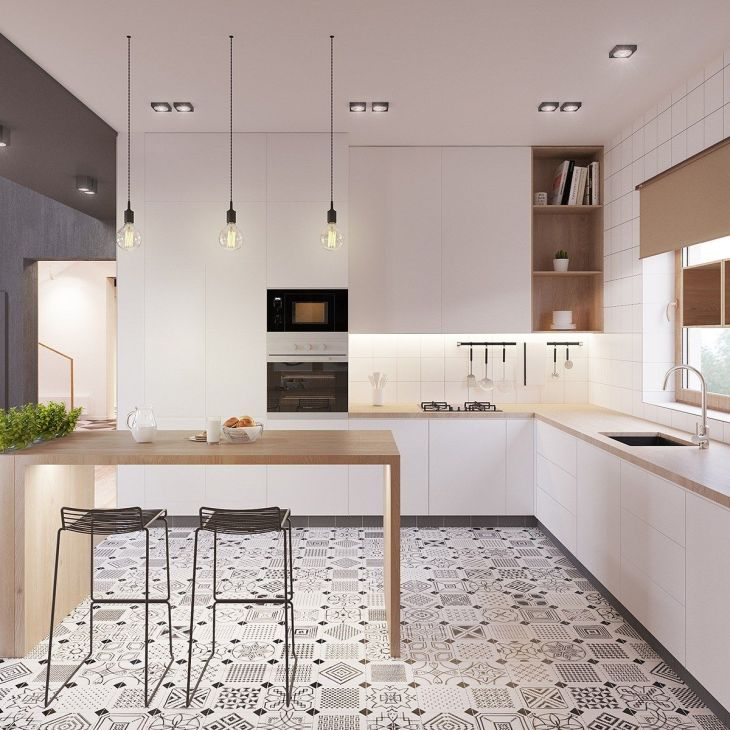 Those HAY Hee Chairs really make this kitchen pop Ideas to Steal