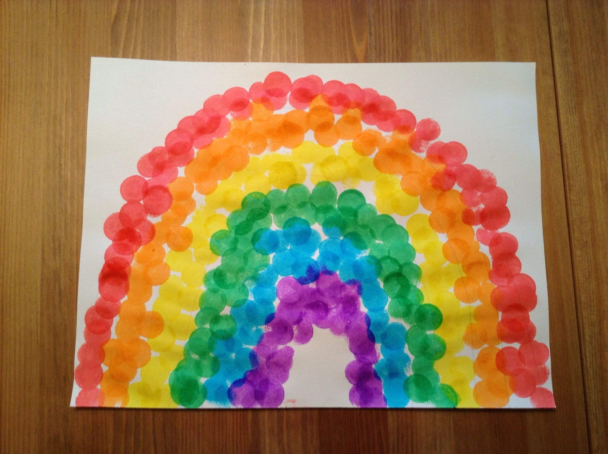 R Is For Rainbow Craft Using Do A Dot Markers
