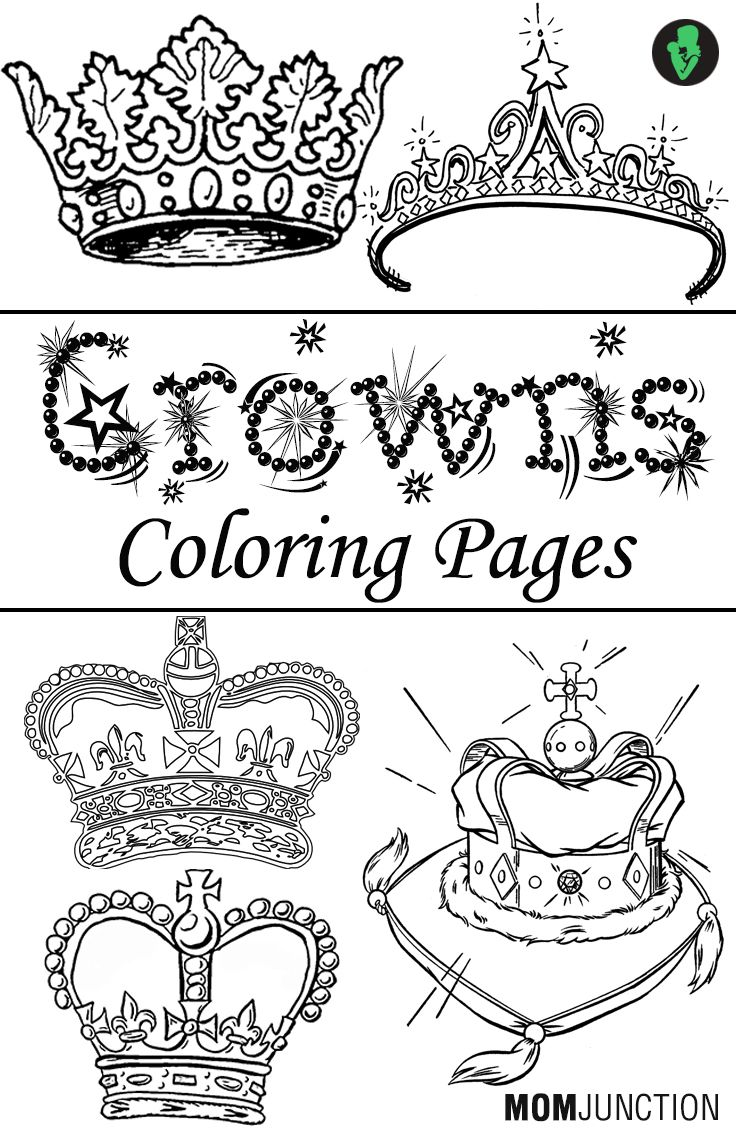 top  free printable crown coloring pages online  summer