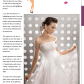 Isabella apple body shape bridal gown suggestions weddingdaystyle