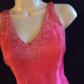 Pink halter prom dress dress prom corset and prom