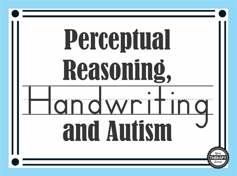 Processing Reasoning Worksheet