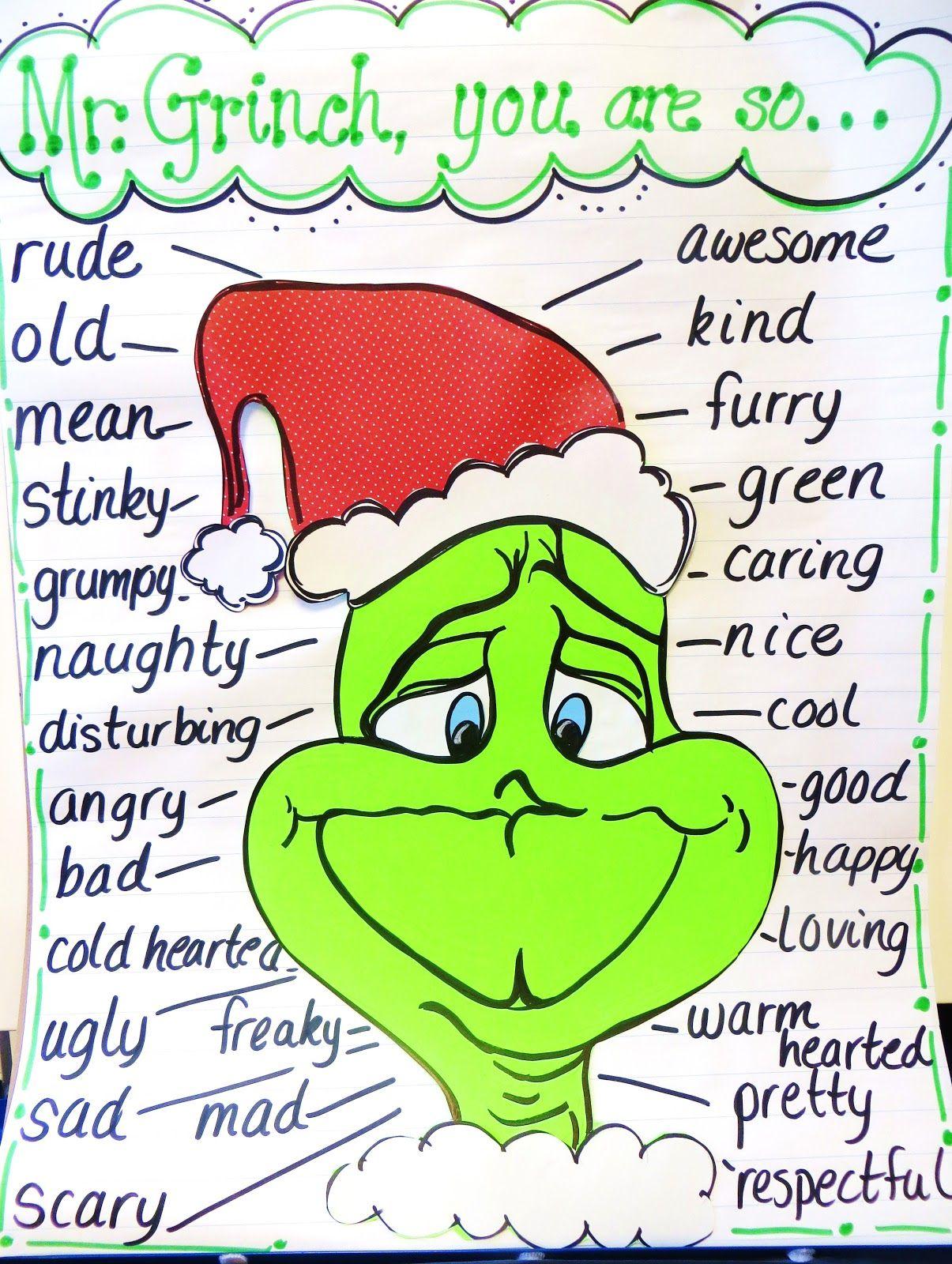 First Grade Wow Grinch Day
