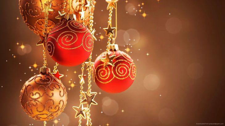 Download x Christmas Decorations Ultra HD Wallpaper