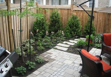Townhouse Backyard Design Ideas, Pictures, Remodel, and ... on Townhouse Patio Ideas  id=86403
