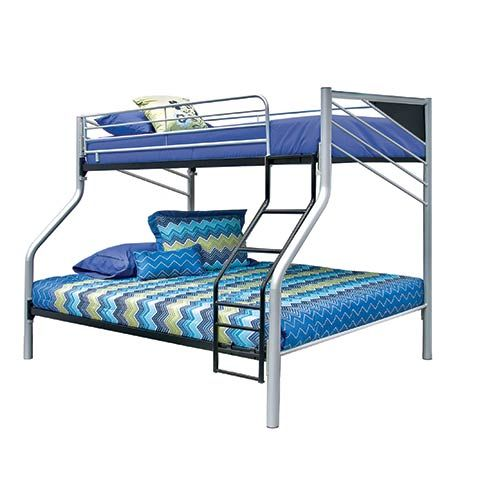 At A Center Bedtime Is Always Better With Bunk Beds And The Cym Sireen Ii Twin Full Bed Set Of E Saving Style Fun
