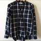 Flannel shirt black and grey  Old Navy Tunic Flannel  White plaid Flannels and Flannel shirts