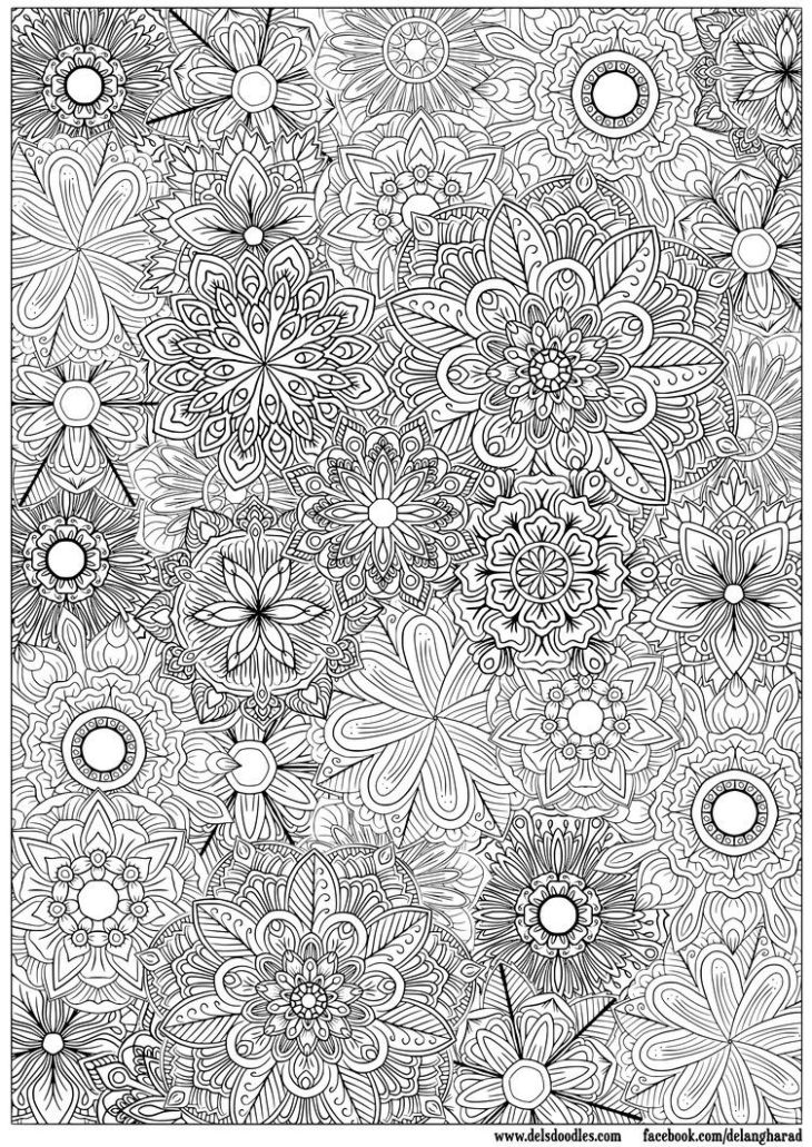 Wonderful site for older child and adult coloring pages Description