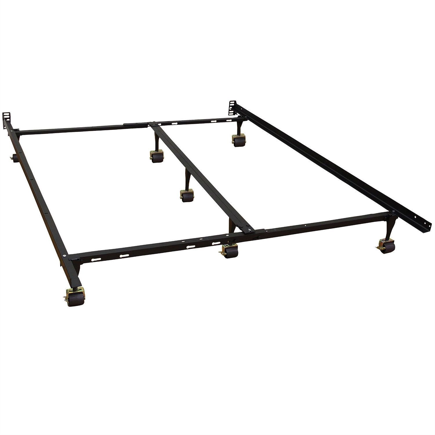 California King Size Metal Bed Frame With 7 Legs Amp Locking