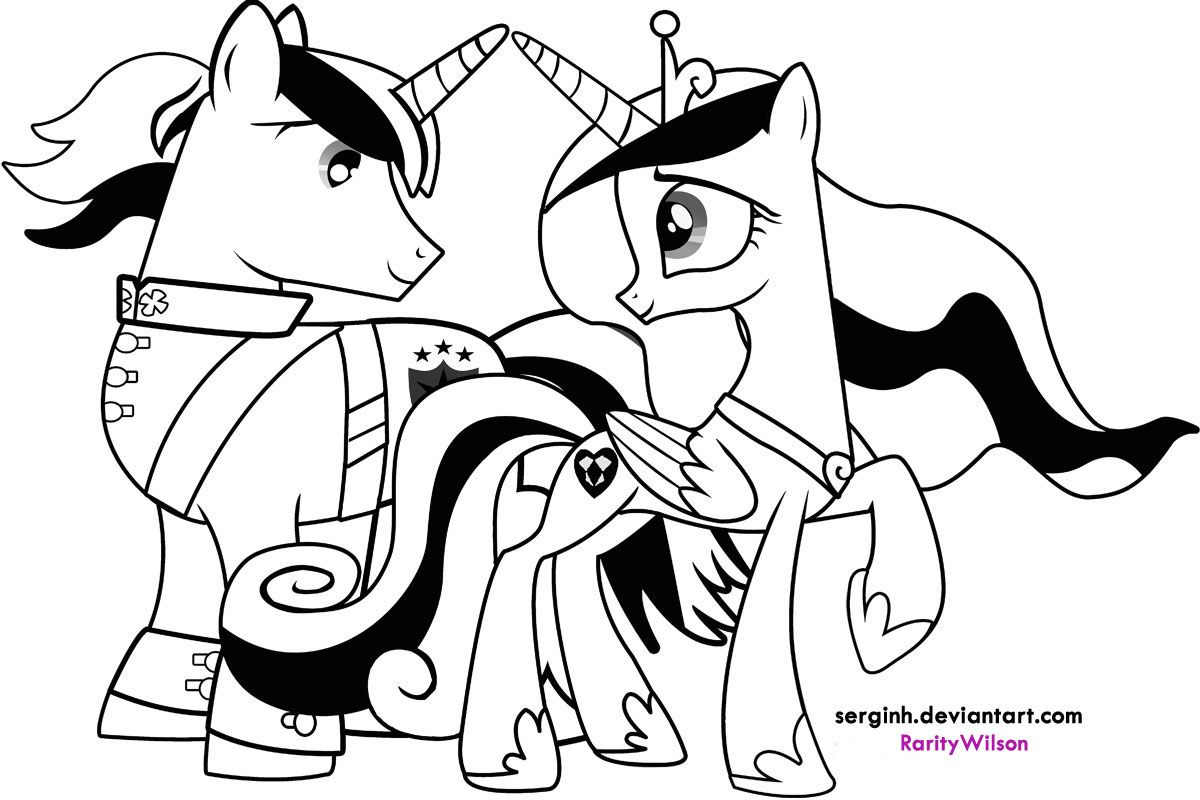 My Little Pony Coloring Pages Pdf Coloring Pinterest Pony