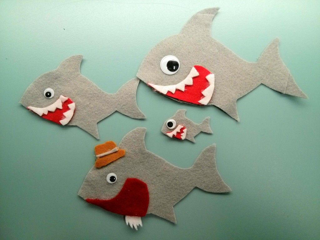Baby Shark Felt Story From Jbrary One Of My Most