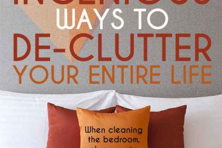 34 Ingenious Ways To De Clutter Your Entire Life   Clutter     34 Ingenious Ways To De Clutter Your Entire Life