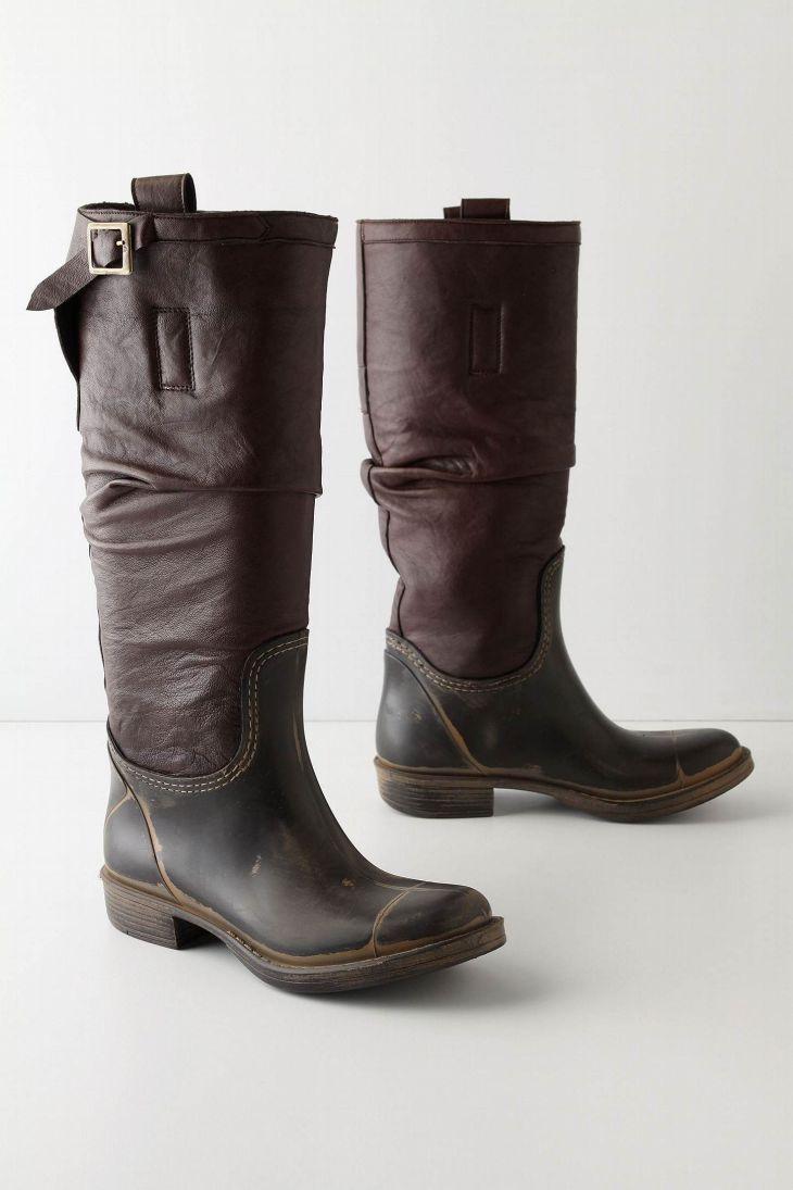 rain boots from anthropologie rain boots Pinterest Rain boot