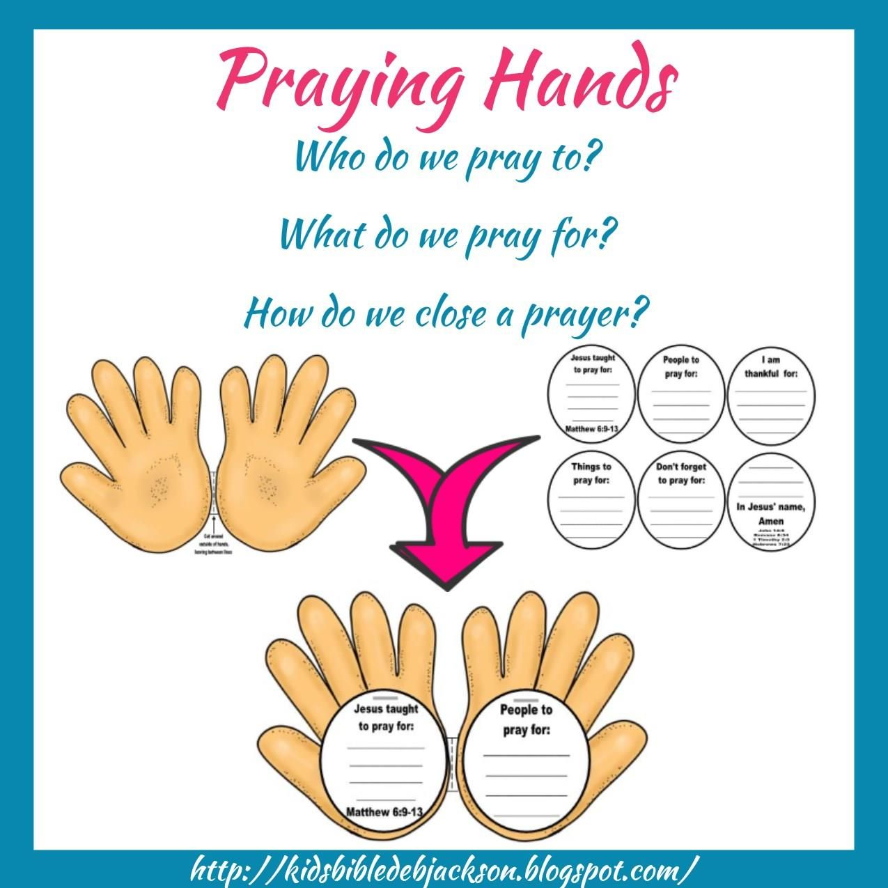 Praying Hands Discussion Starter On How Who What Etc