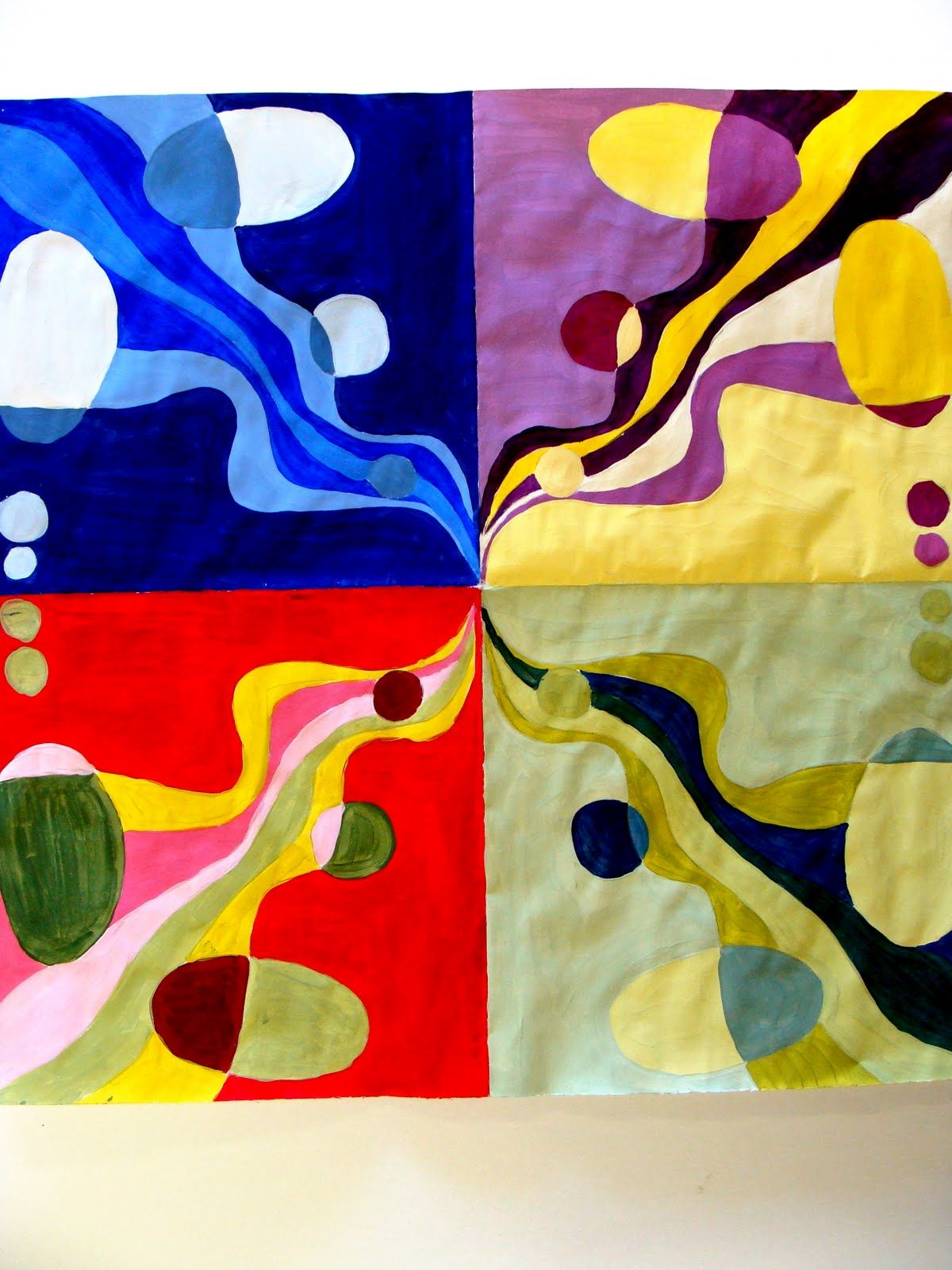 High School Color Theory Art Lessons