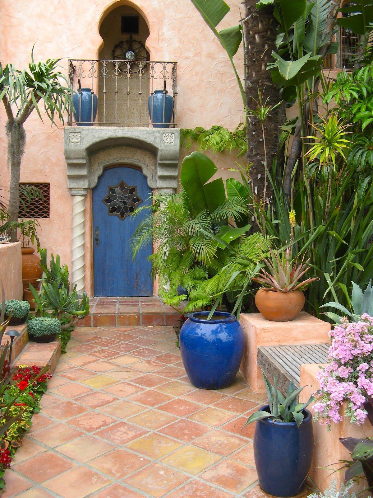 moroccan garden arábia pinterest gardens front on backyard landscape architecture inspirations id=94504