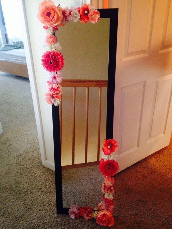 Ideas para decorar tu cuarto con flores | Room, Ideas para ... on Room Decor Manualidades Para Decorar Tu Cuarto id=34091