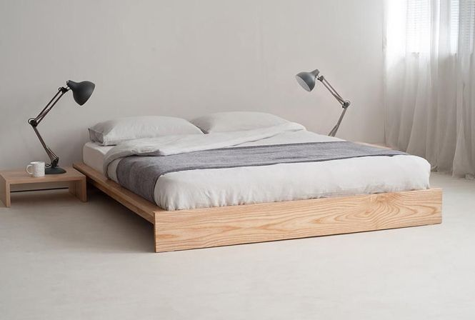 Ideas For Beds Without Frames Part 8 Bed Frame Headboard