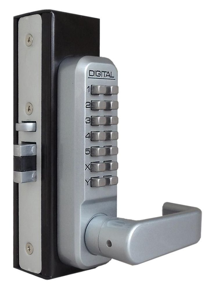 Double Sided Keyless Door Locks  commedesgarconsmademoiselle